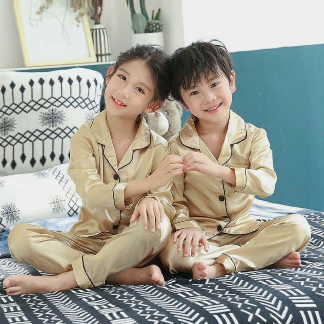 Unisex kids Pajamas Set, Siblings Nightwear Online India