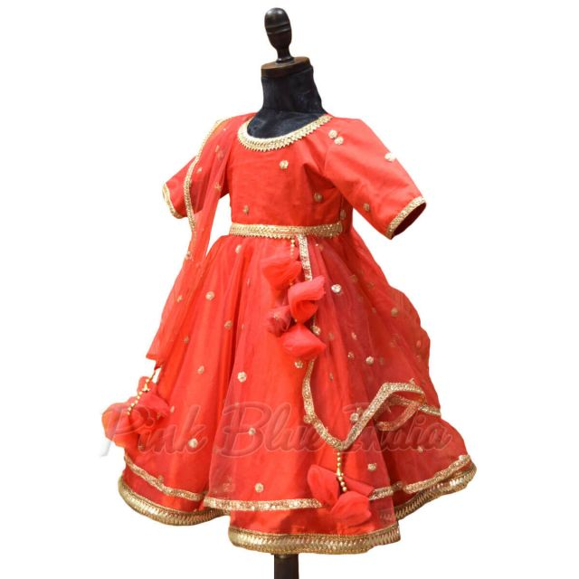 Indian Wedding Traditional Dress for Girls