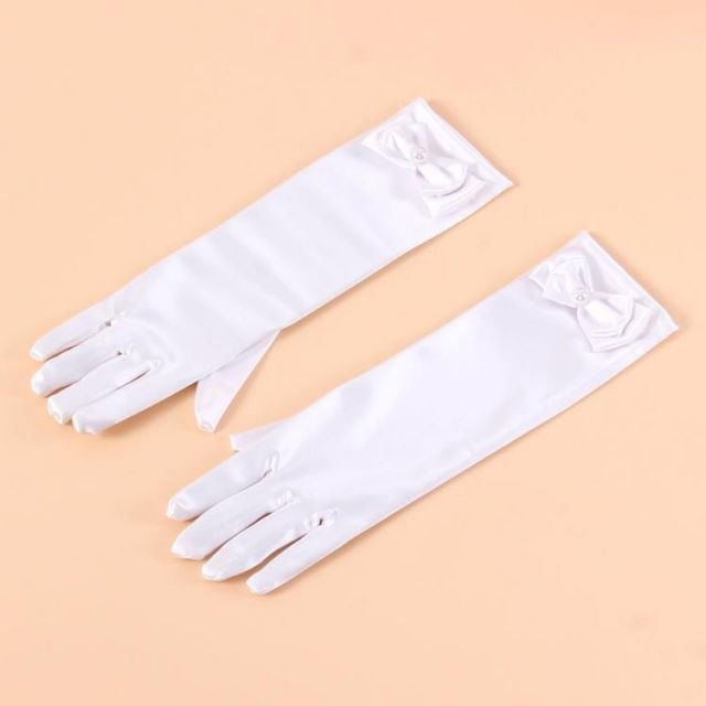 white baby gloves