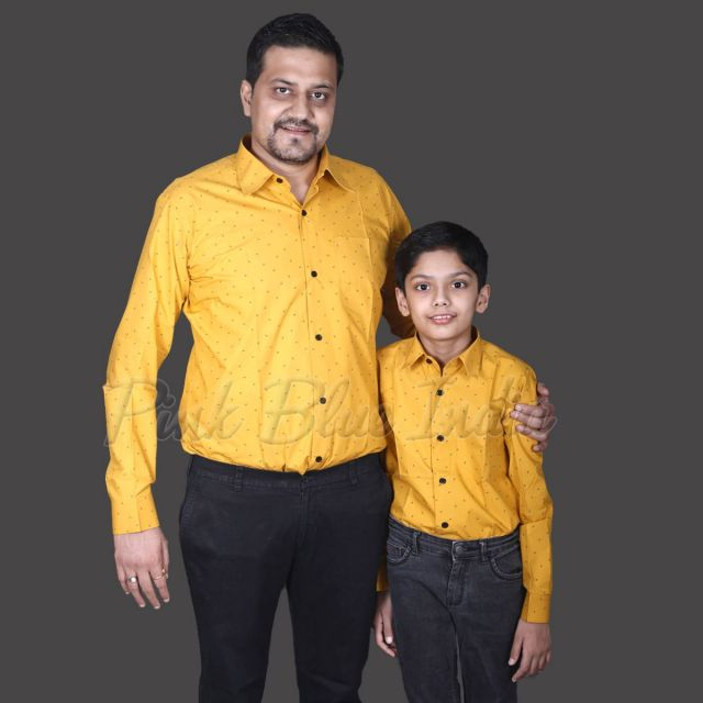 Dad and Son Shirts Combo, Buy Father Son Shirts online India