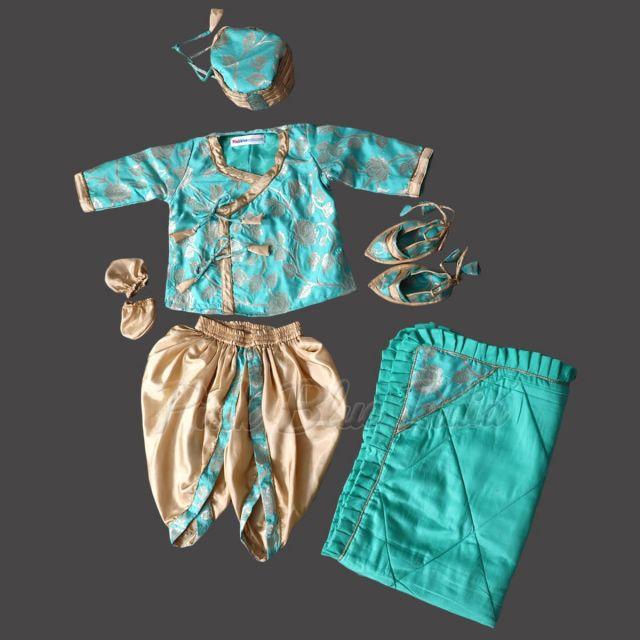 Personalized Newborn Jamna Set, kids jamna, baby jamna online