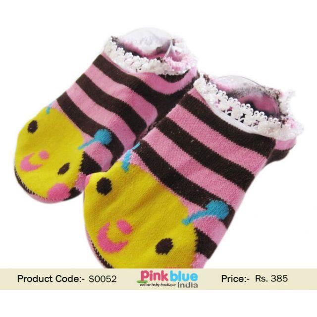 stripes infant socks