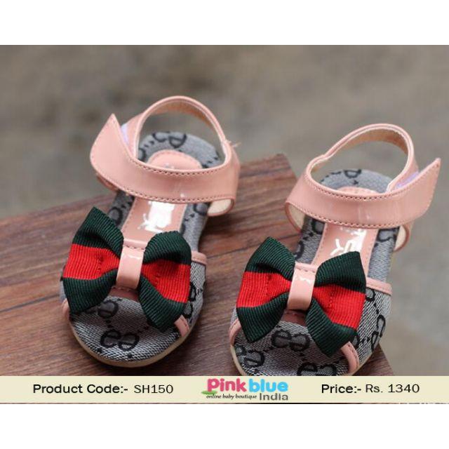 infant girl sandal