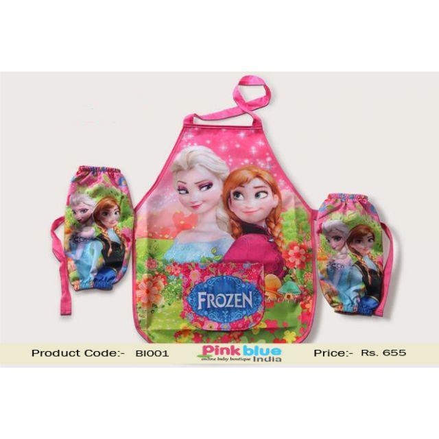 frozen baby apron