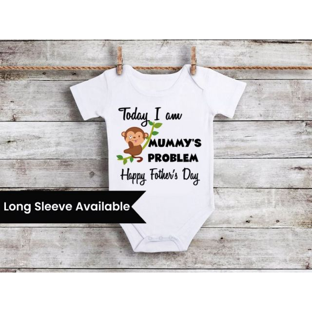 Fathers Day Baby Girl Boy Clothes, First Father s Day Gift Online