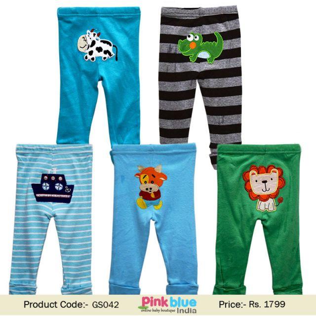 5 Pack Infant Newborn Baby Boy and Girl Pyjama