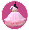 Girls Party Wear Gowns