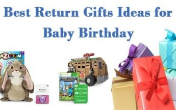 Best Return Gifts Ideas for Baby Birthday in India
