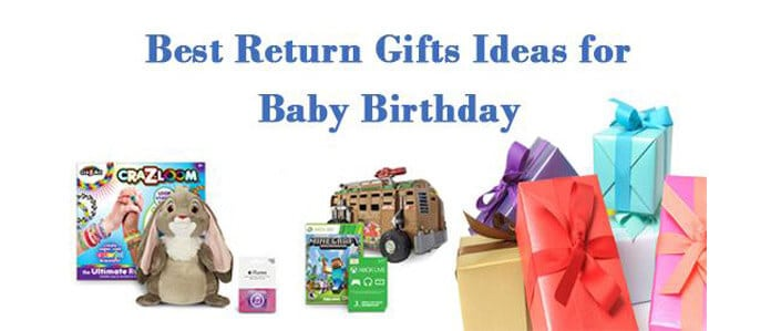 Best Return Gifts Ideas For Baby