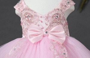 kids dress embellishments