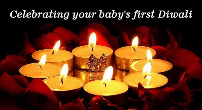 Celebrate Baby First Diwali