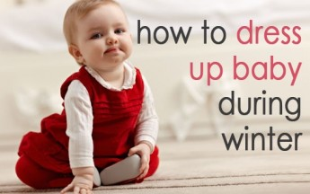 How to Dress up Baby in Winter