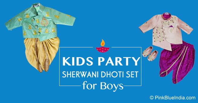 Diwali Indian Sherwani for Little Boy