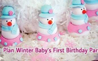 How to Plan Winter Baby's First Birthday Party