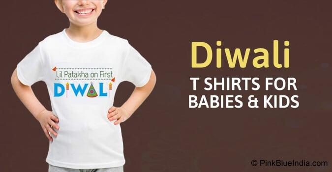 My first Diwali Newborn Baby T-Shirt