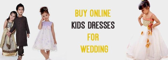 Buy Kids Dresses for Wedding