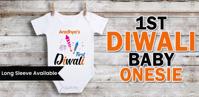 Newborn Diwali Outfits, 1st Diwali Oneise