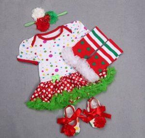 Baby Girl Christmas Outfit, Christmas Dress India
