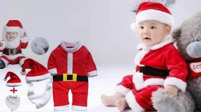 Santa Claus Costumes for Babies