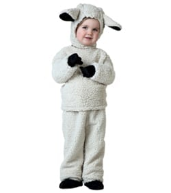Christmas Sheep Costume child