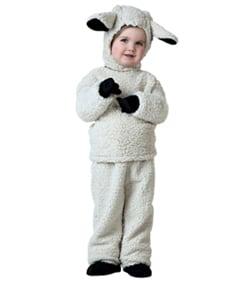 Christmas Sheep Costume child