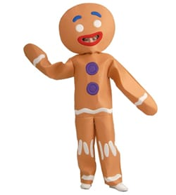 toddler Gingerbread Skin Suit