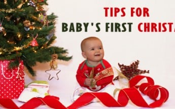 10 Easy Tips and Traditions for Baby's First Christmas