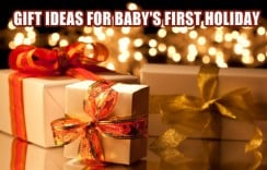 10 Cute Gifts ideas for Baby's First Holiday