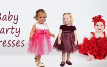 5 Different Types of Party Dresses for Baby Girls