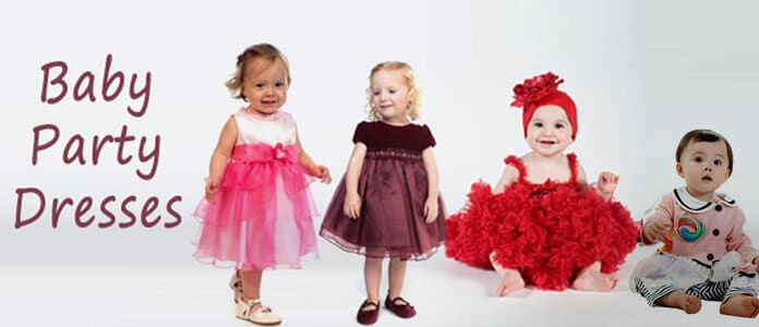 Designer baby Party Dresses