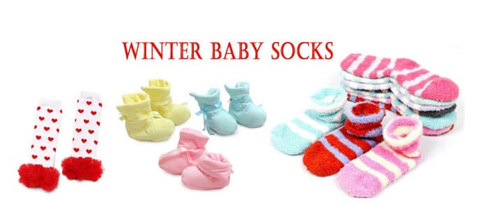 baby winter socks