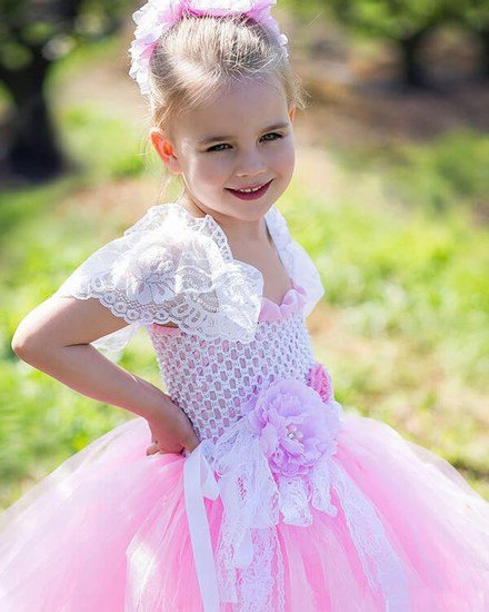 Flower Girl Princess Tutu Dress