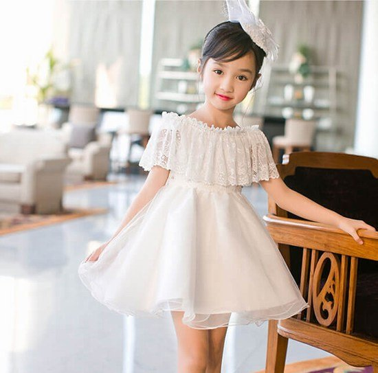 White baby girl dresses special occasion