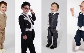 Latest Dazzling Styles in Formal Clothing for Baby Boys