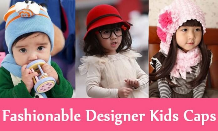 Fashionable Designer Kids Caps