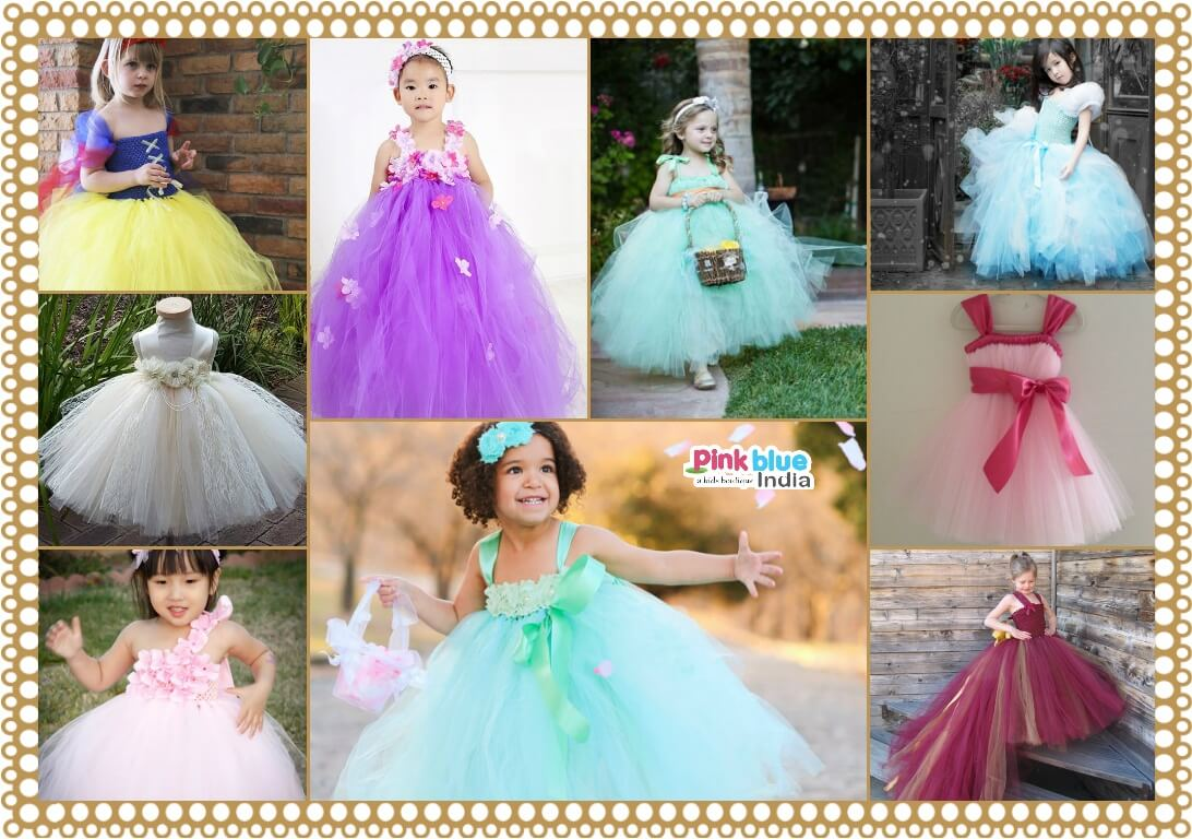 Wedding Birthday Party Flower Girl Tutu Dresses
