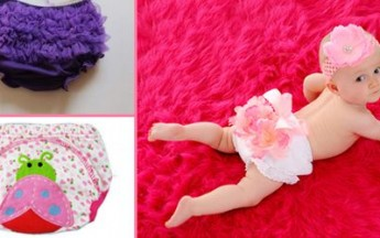 Beautiful Baby Diaper Covers and Bloomers in Different Patterns in India