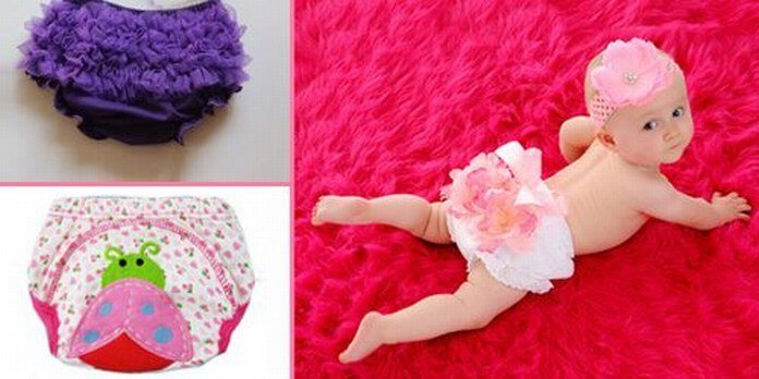 Baby Diaper Covers and Bloomers