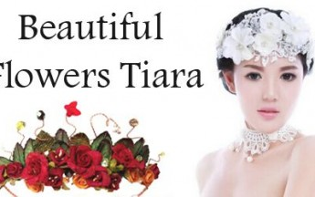 Dazzling Birthday Tiaras for Women with Flowers & Embellishments for Parties