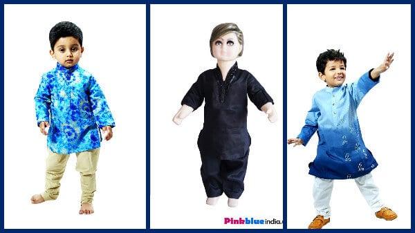 Ethnic Wear Kurta Pajama for Boys
