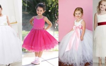 Beautify Your Children with Smart and Stylish Designer Wedding Dresses