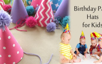 Gift Smart First Birthday Party Hats to Kids in India