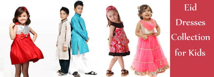 Special Designer Eid Dresses Collection 2017 For Kids In Attractive