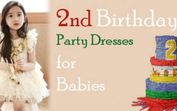 2nd Birthday Party Dresses for Little Children