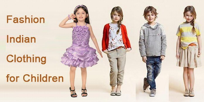Fashion Indian Clothing for Children