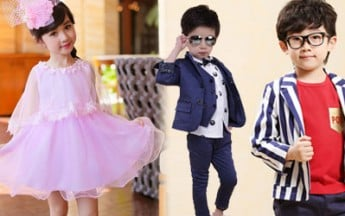 Elegant Indian Kids Wear in Latest Designs and Patterns