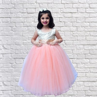 3rd Birthday Princess Dress, 3 Year Girl Birthday Gown