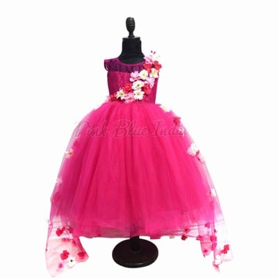 3 year old girl Ball Gown Dress, 3rd Birthday Dress