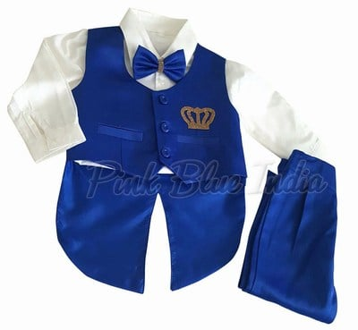 3 year old boy Formal Tailcoat Suit