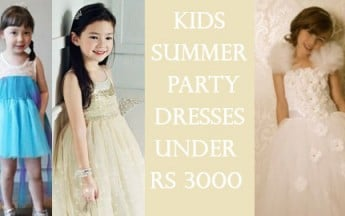 5 Cute Kids Summer Party Dresses under Rs 3000 fit for your Little Children